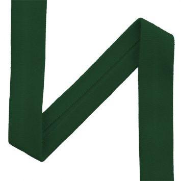 Biais jersey vert sapin 20mm