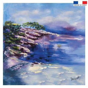 Coupon 45x45 cm Port d'Alon - Création Monique.D