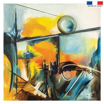Coupon 45x45 cm Équilibre - Création Monique.D