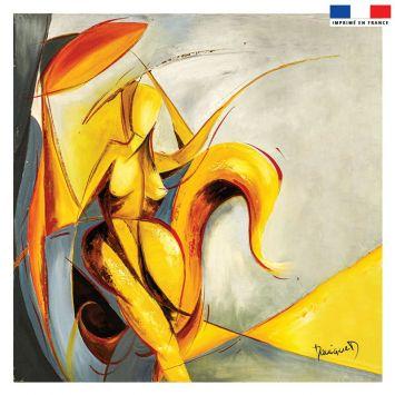 Coupon 45x45 cm Fantasme - Création Monique.D