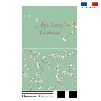 Kit pochette motif ma tatie d'amour