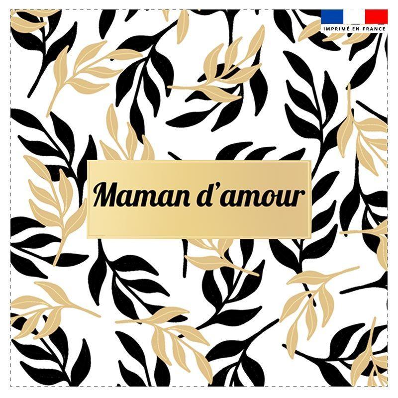 Coupon 45x45 cm motif maman d'amour