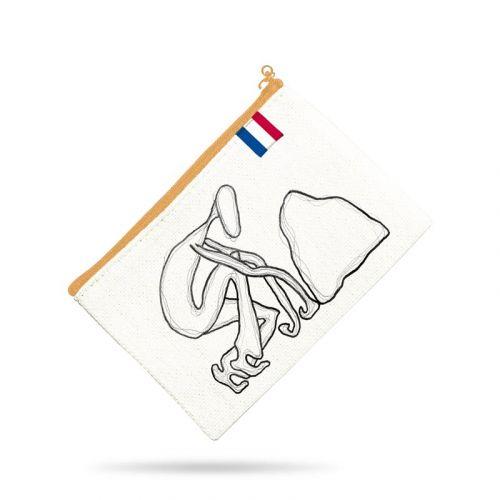 Kit pochette motif corps abstrait - Création Razowsky