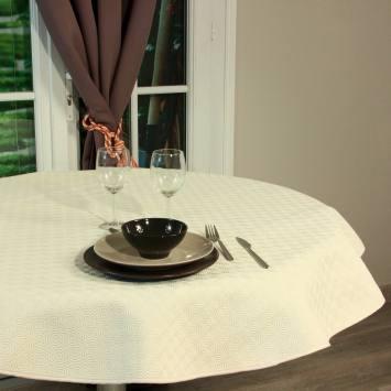coupon - Coupon 60cm - Protège-table sous nappe écru