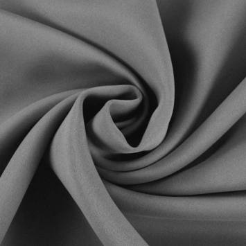 Tissu occultant non feu gris grande largeur