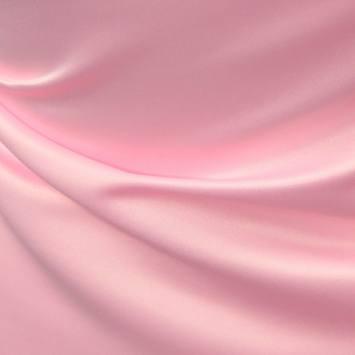 coupon - Coupon 23x136cm - Satin duchesse rose