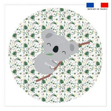 Coupon 45x45 cm motif baby koala
