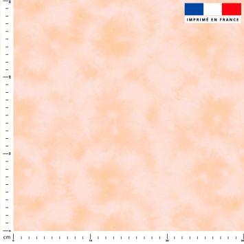 Tie and dye effet aquarelle - Fond beige