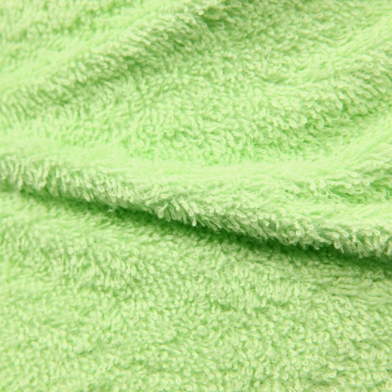 Tissu éponge vert amande 400Gr 07