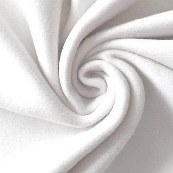 Polaire très douce blanche