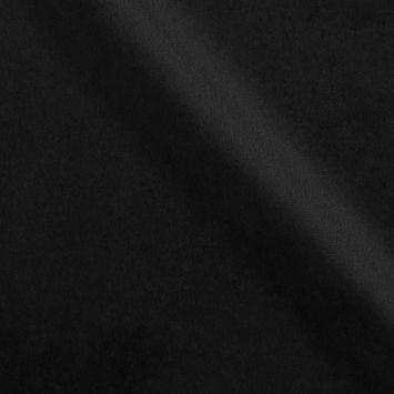 Velours d'ameublement uni noir