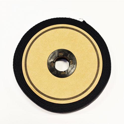 Rouleau 10m sangle coton 30mm noire