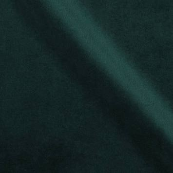 Velours d'ameublement uni bleu canard