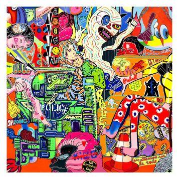 Coupon 45x45 cm motif your own identity recto - Création Khosravi