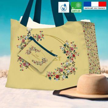 Kit sac de plage imperméable motif I'm still fabulous - Queen size