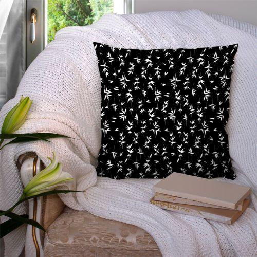 Bambou blanc - Fond noir