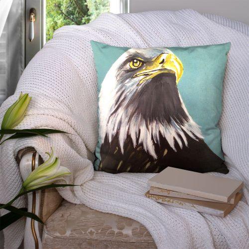 Coupon 45x45 cm motif aigle - Création Lilou L