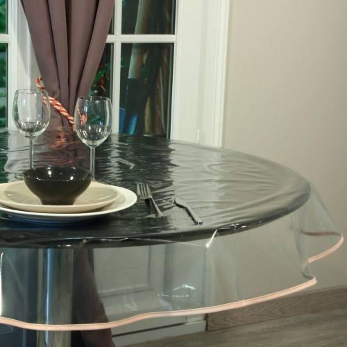 Cristal transparent pour nappes 20/100 ème