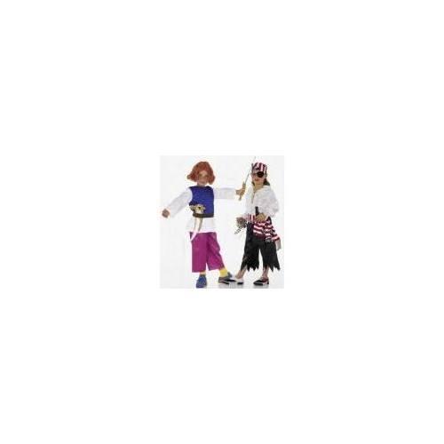 Patron Burda N°2506 carnaval : Shirt et pantalon Taille : 4-10ans