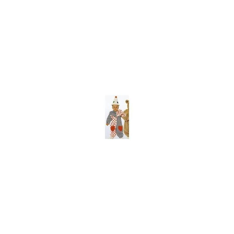 Patron Burda N°4946 carnaval : Combinaison Taille : 6-18mois et 2-3ans