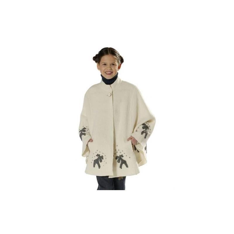 Patron N°9674 Burda kids : Manteau, Cape Taille : 4-10 ans