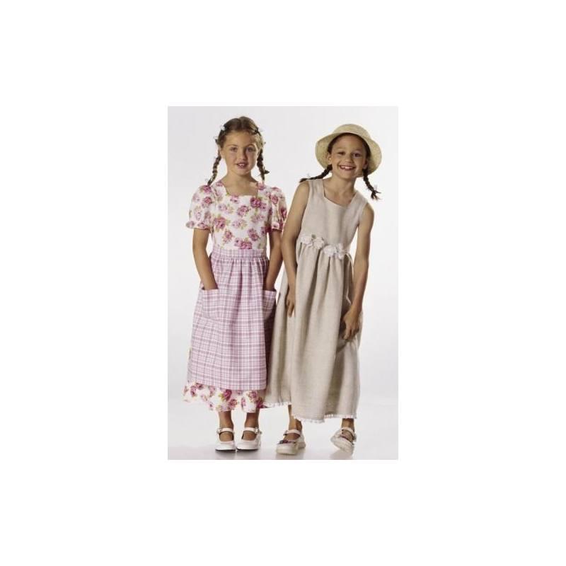 Patron N°9755 Burda kids : Robe et veste Taille : 6-11 ans