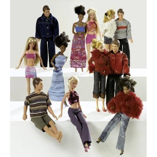 Patron N°8576 Burda style : vêtement de poupée