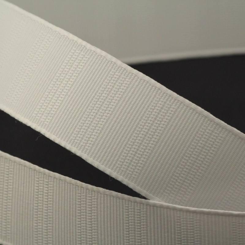 Ruban gros grain blanc - 25mm