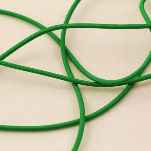 Cordon élastique 2 mm vert