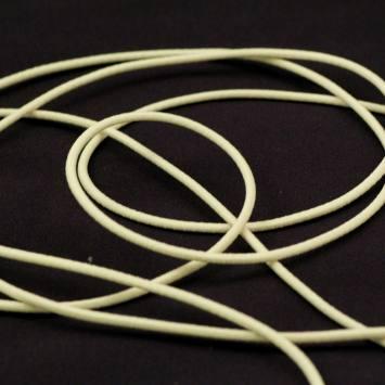 Cordon élastique 3 mm - ivoire