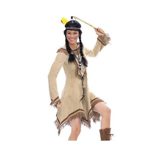 Patron Burda N°2432 carnaval : indienne et elfe Taille : 36-48