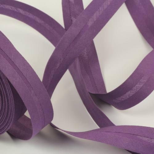 Bobine de biais 20 M - violet 43