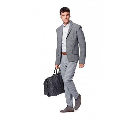 Patron Burda N°7046 style : Ensemble homme Taille : 44 à 54