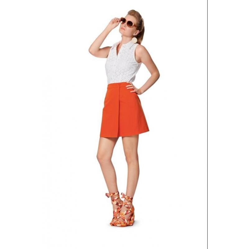 Patron Burda N°7049 style : Jupe femmes Taille : 32 à 44