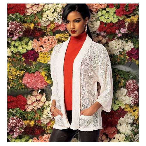 Patron McCall's M6802 : Cardigans Taille : 46-52