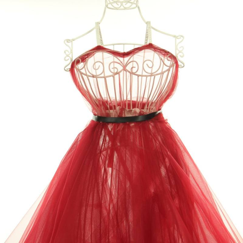Tulle bordeaux pour robe de mariée grande largeur