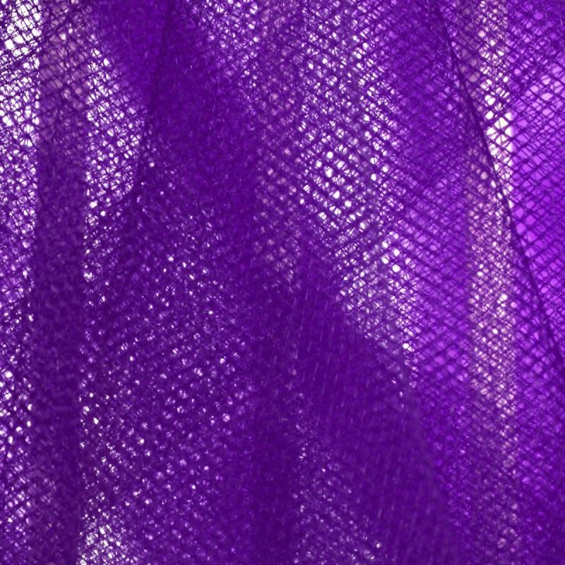 Tulle lilas pour robe de mariée grande largeur