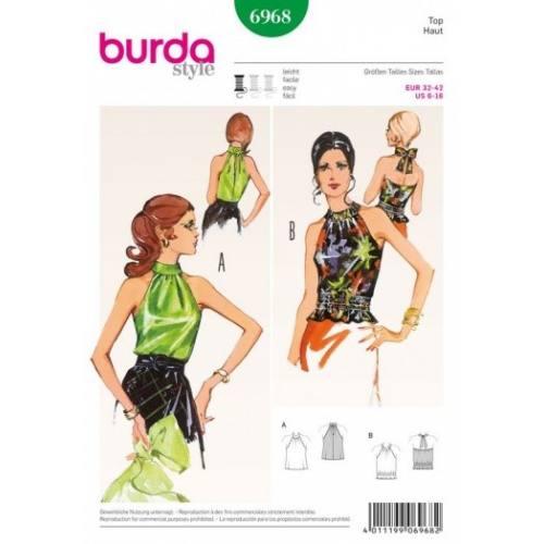 Patron Burda 6968 : Top 32 à 42