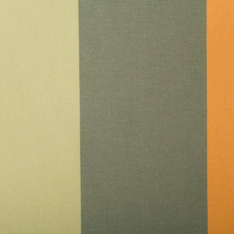 toile ext rieure t flon ray vert et orange tissus pas cher vente de tissus au m tre. Black Bedroom Furniture Sets. Home Design Ideas