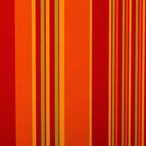 Toile extérieure Téflon grande largeur rayé multicouleur rouge