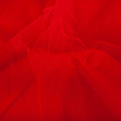 Tulle rigide 300 cm Rouge