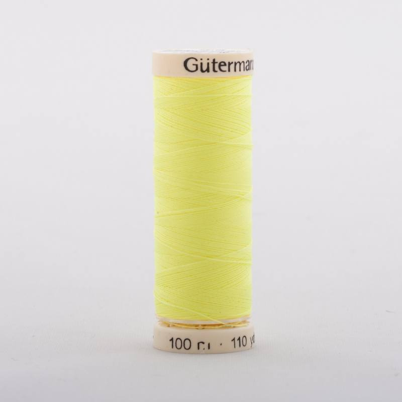 Fil Polyester 3835 jaune fluo