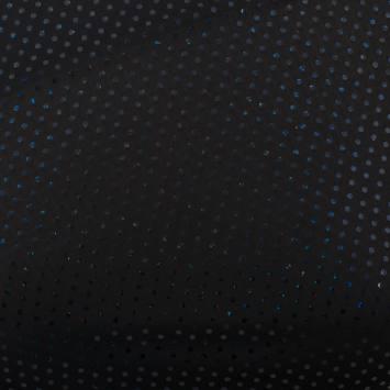 Lycra noir pailleté