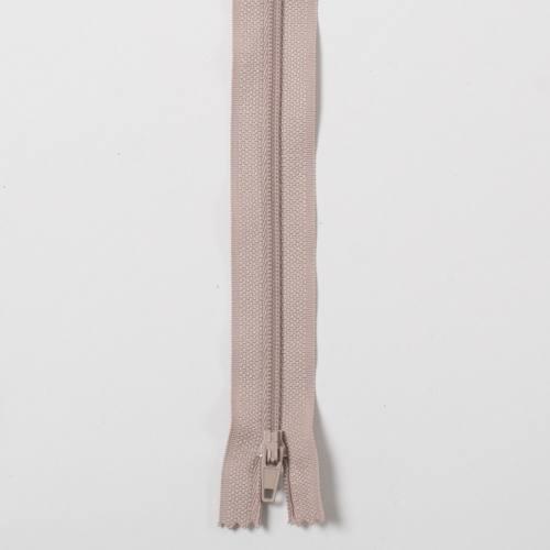 Fermeture 45cm Polyester non séparable beige 156
