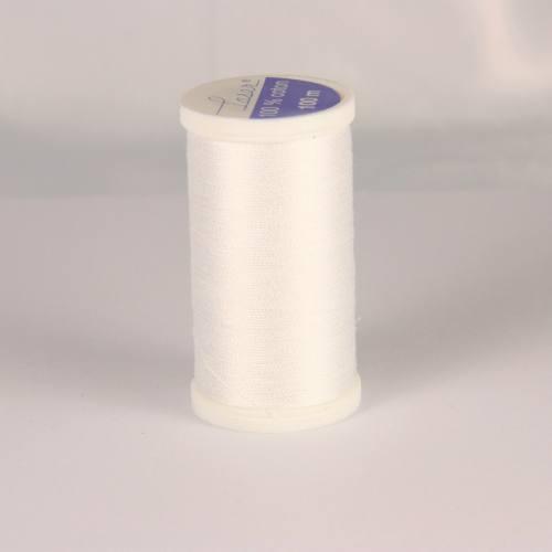 Bobine de fil cordonnet Laser 1200 - Blanc