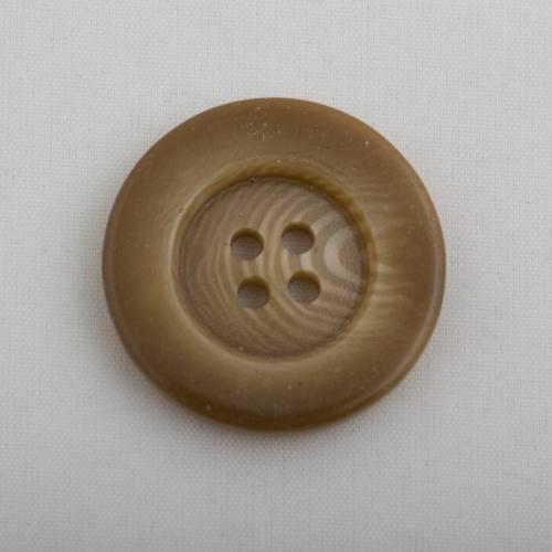 Bouton beige dégradé 2.5 cm