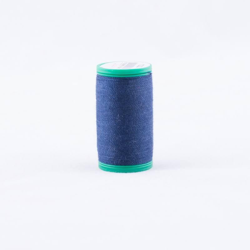 Bobine de fil cordonnet Laser 1222 - Bleu foncé
