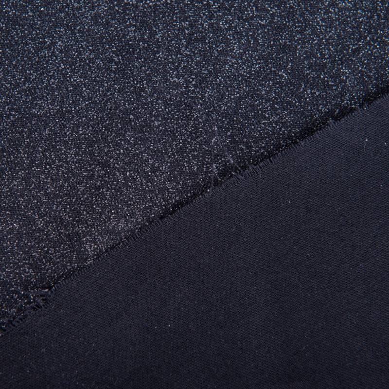 Toile thermocollante lourde noire