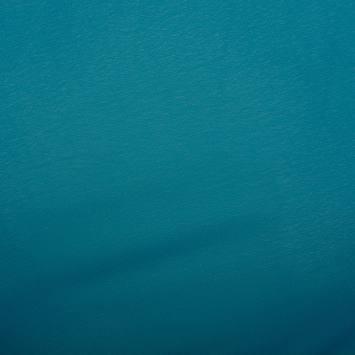 Mousseline unie Bleu canard N°22