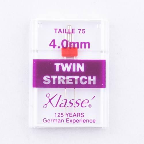 Aiguilles machines twin stretch 75/4 mm